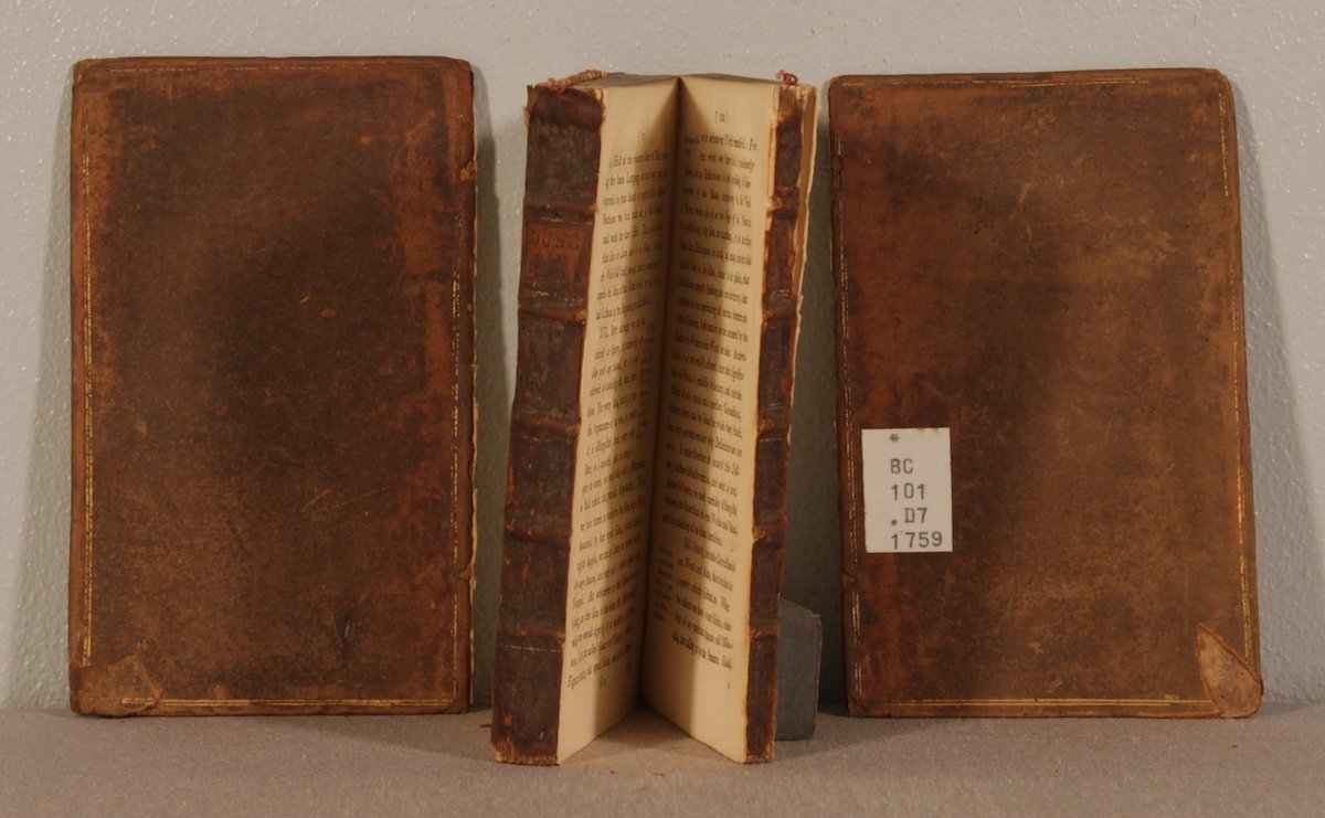 Book Conservator Repair (before)
