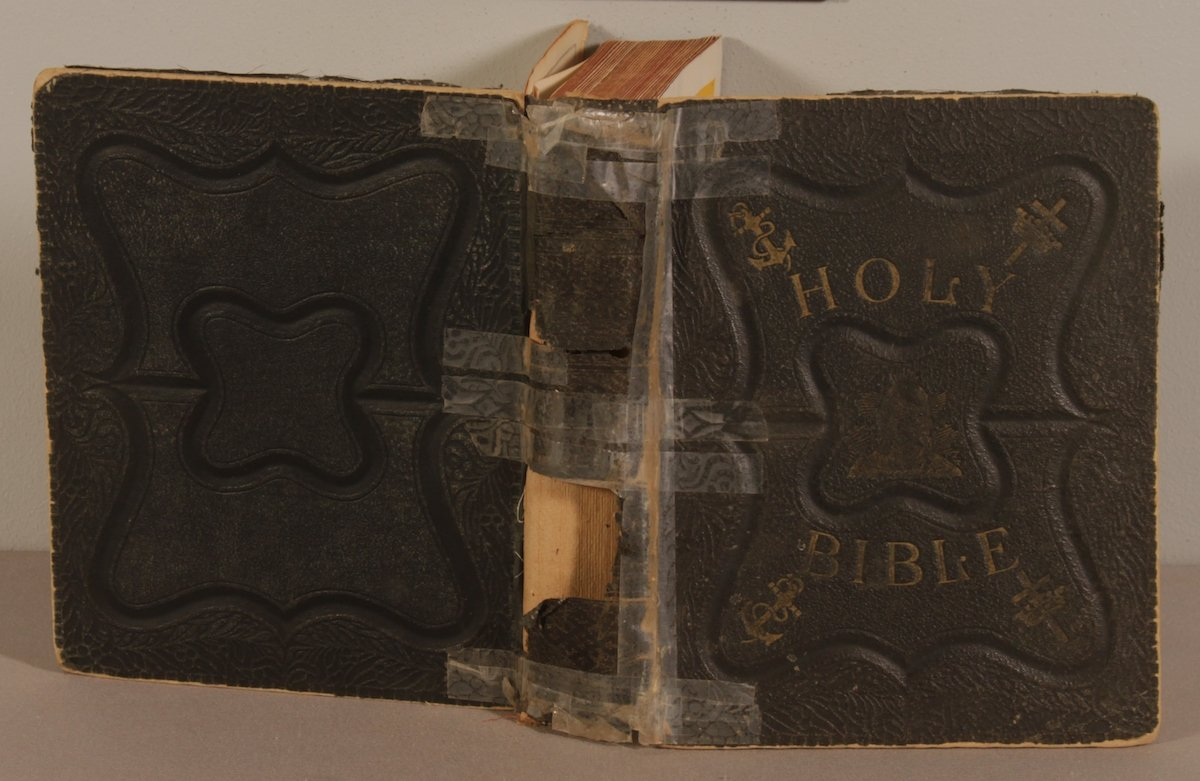 Holy Bible Repair (before)