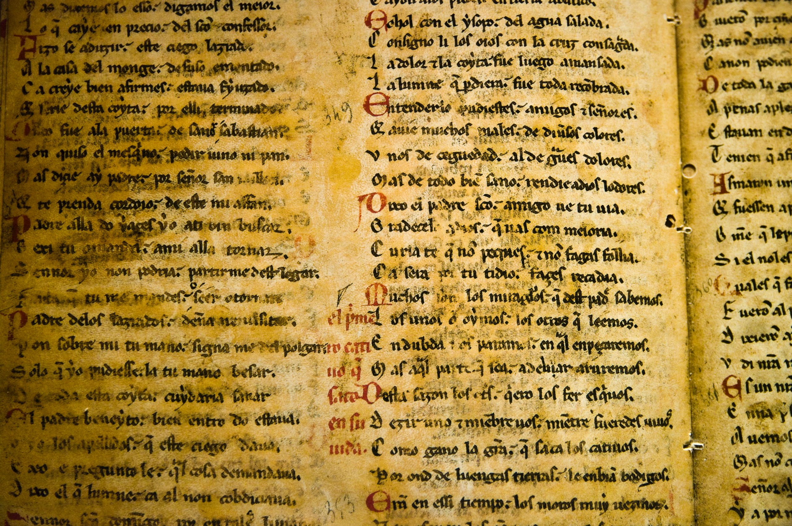 How to Care For Vellum and Parchment Documents