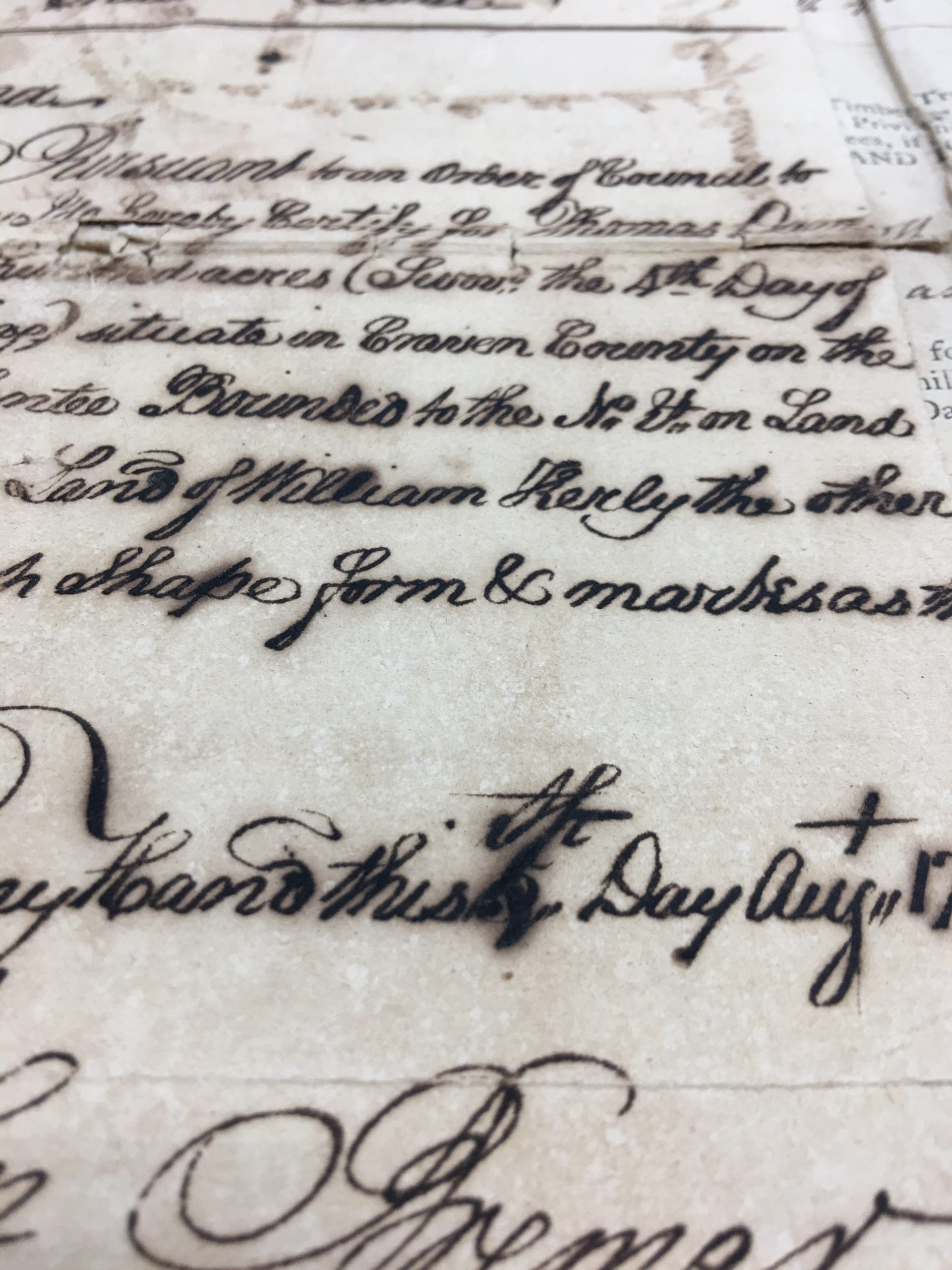 Restoring Historic Documents with Iron Gall Ink Corrosion